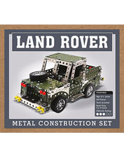 Take on a fun challenge and create a beloved vehicle with our Land Rover Construction Set.