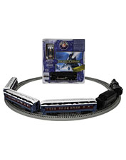 Bring home the magic: This Lionel Polar Express Train Set inspires the imagination.