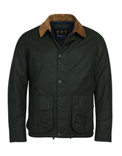 The Allund from Barbour is a contemporary update to a classic waxed cotton jacket style.
