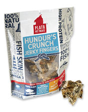 Treat your dog to the satisfying texture of these flavorful Hundur's Crunch Jerky Fingers.