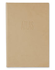 Lose yourself in the beauty and luxury of our Premium Leather-Bound Atlas.