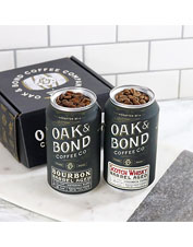 The Oak And Bond Gourmet Coffee Set offers choices for the discerning gourmand.