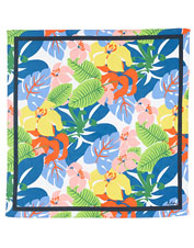 Add interest to your outfit—and your day—with this appealing graphic printed bandana from Echo.