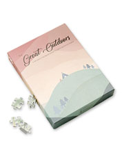 The Great Outdoors Jigsaw Puzzle is a personalized gift perfect for any traveler—even you.