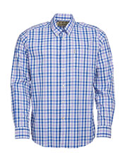 Impressive performance properties and a classic tattersall—the Barbour Cres Shirt offers both.