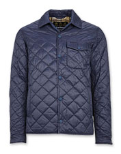 Leave it by the door—the lightweight, diamond-quilted Barbour Tember is your new go-to jacket.