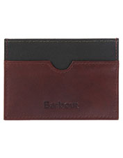 This wax/leather credit cardholder from Barbour boasts a low profile but plenty of utility.