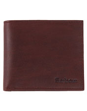 Barbour adds thoughtful design elements to this sturdy billfold-style Wax/Leather Wallet.