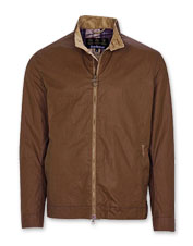 Barbour updates a favorite style in the handsome and edgy Brobel Waxed Cotton Jacket.