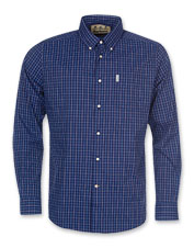 The Barbour Batley Shirt offers tailored style and technical performance in equal measure.