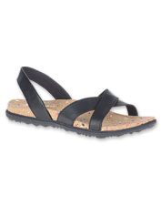 The Napa Valley Slingback Sandals from Merrell offer supreme comfort in an eco-friendly option.