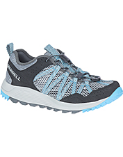 Water-friendly, adventure-ready Merrell Wildwood Aerosport shoes go anywhere the trail leads.