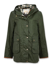 The versatile Victoria from Barbour is a lightweight, all-occasion waxed cotton jacket.