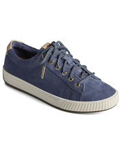 Sperry elevates a casual style in these Anchor Plushwave Leather Sneakers.