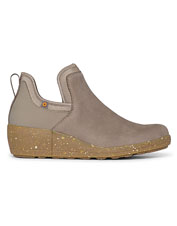 Take on wet weather in waterproof comfort wearing these Vista Wedge Open Booties from Bogs.