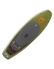 The nimble NRS Osprey Fishing Inflatable SUP Board is lightweight, rugged, and adventure-ready.