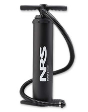 Make fast work of inflating your watercraft with the versatile, durable NRS Super 2 Pump.