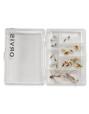 Our Essential Trout Dries Assortment gives you the best fly options in one easy-to-carry case.