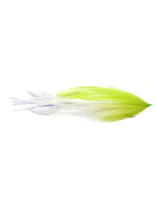 An inventive fly pattern for saltwater anglers, the Ostri-Ceiver attracts plenty of attention.