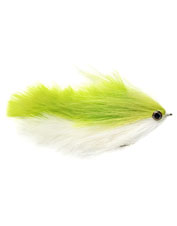 Tie on the articulated Mara-Changer fly to attract a variety of species in- or offshore.