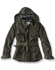 The Icons Ursula Jacket by Barbour remains true to the original military style's legacy.