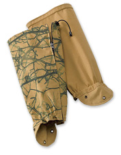 Protect your legs with these durable hunting gaiters.