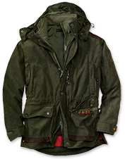 Muflon Jacket with Detachable Vest