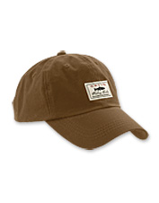 Stay protected from the rain and sun with our waxed-cotton ball cap.