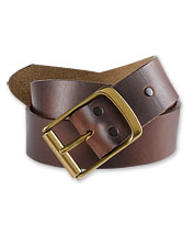 Our rich Heritage-Leather Jeans Belt is a rugged and refined complement to favorite denim.