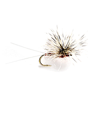 These easy-to-see dry flies will tempt trout feeding on mayfly spinners.