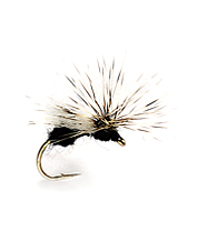 Dry fly fishing with this innovative pattern will draw strikes over and over.
