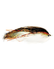 This articulated streamer fly is irresistible to meat-eating trout.