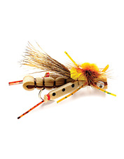Make a splash with this vibrant terrestrial fly pattern.