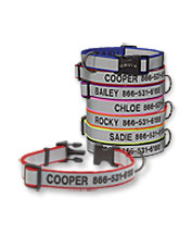 Our reflective dog collar was awarded Best Basic Dog Collar by The Wirecutter. Made in USA.