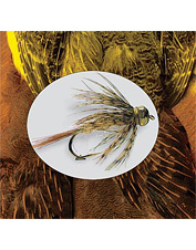The standard hackle material for tying any soft hackle or nymph fly. Made in USA.