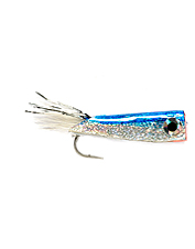 A go-to fly for anglers in need of a small profile surface fly for saltwater.