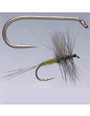 These are the best fly-tying hooks for dry flies.