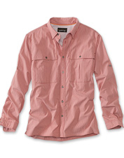 Choose this exceptional open-air fly-fishing shirt for casting on the season's hottest days.