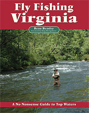 Explore little-know fly fishing opportunities in this guide book for Virginia.