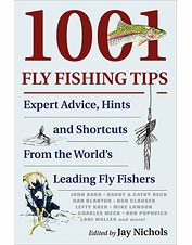Leading anglers come together to produce this comprehensive book of fly-fishing tips.