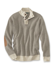 We bring comfort and style together with this handsome cashmere sweater for men.
