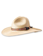 Our crushable Lochsa River Straw Hat is ready for whatever your day on the water brings.