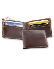 The bi-fold-style Heritage Wallet promises years of reliable service, in buttery-rich leather.