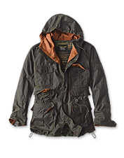 The perfect autumn coat, you'll love the rugged details of this men's jacket from Barbour.