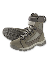 Experience all-day comfort in these flats fishing boots.