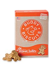 Buddy Biscuits dog treats contain only the most wholesome ingredients for your pet.