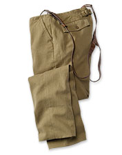 Hemp/Cotton-Canvas Miner's Pants