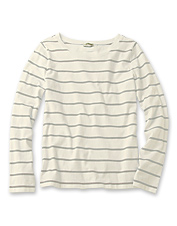 Double-Striped Crewneck Tee