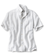 Stay cool even in the warmest of weather wearing our breathable, Pure Linen Havana Shirt.