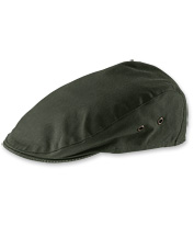 Waxed Cotton Driving Cap